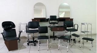 Equipo Para Estética Salón De Belleza 12 Muebles Glamour