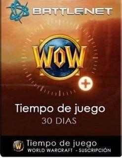 Tiempo De Juego World Of Warcraft Ficha Wow