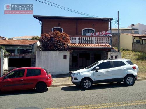 Casa Com 4 Dormitórios À Venda, 300 M² Por R$ 750.000,00 - Jardim Panorama - Valinhos/sp - Ca0308
