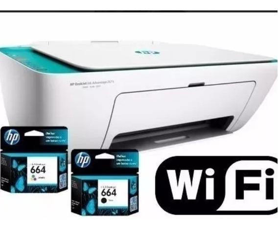 Impressora Hp 2675 Deskjet Multifuncional Bivolt