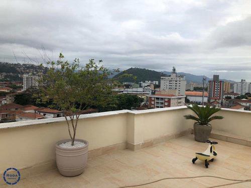Cobertura Com 2 Dorms, Campo Grande, Santos - R$ 1 Mi, Cod: 19111 - V19111