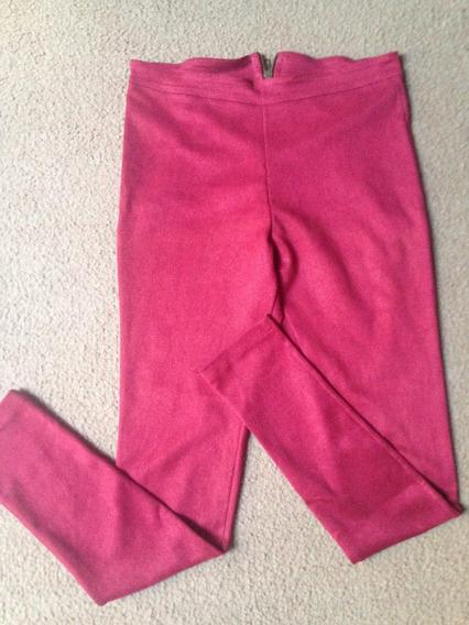 Calza Leggings Pantalon De Gamuza Elastizada Talle S