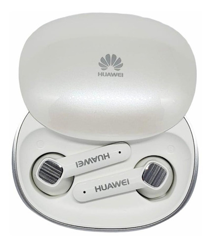 Imagen 1 de 4 de Audífonos Inalámbricos Huawei Tws Earbuds Blancos
