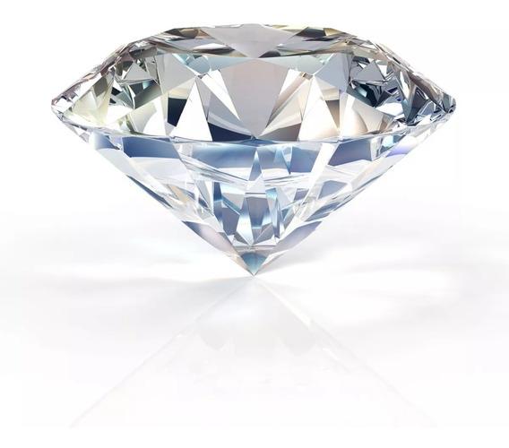 Joia Foto Unha Diamante 5x 3 Cm Pedraria Cristal Swarovski