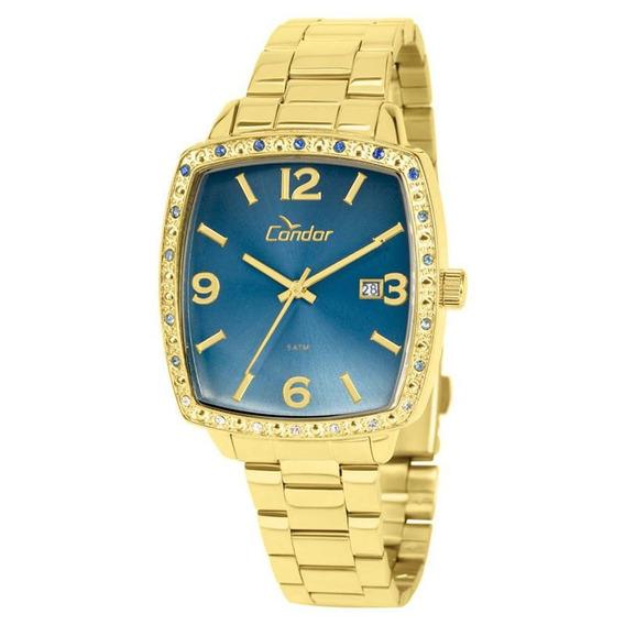 Relógio Condor Feminino Dourado Lindo Co2115uq/4a Promoção