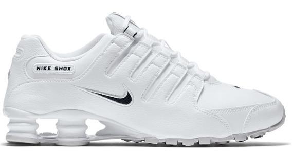 Zapatilla Nike Shox Nz Eu White- Hombre