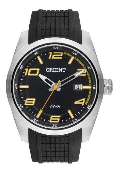 Relógio Orient Mbsp1020 Pysx Masculino Prata/preto