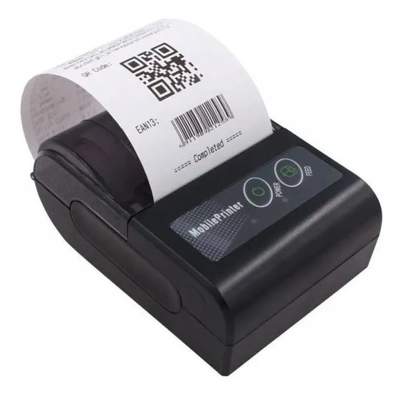 Kit 8 Mini Impressora Bluetoot Portatil Sem Fio Termica 58mm