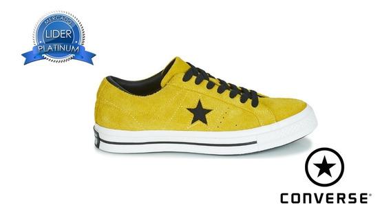 Zapatillas Converse Gamuza Amarillo 163245c