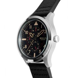 Reloj Walla - Timekeeper - Steel Black