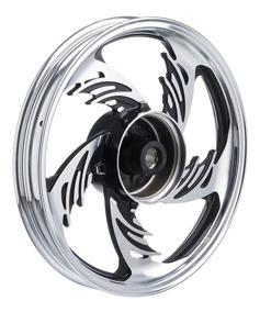 Roda Aluminio Traseira Temco Orion Crom/pto Cg 125 Fan /2008