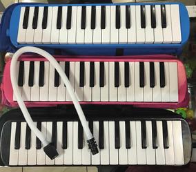 Melodicas Infantiles 32 Teclas Con Estuche Manguera Y Pito