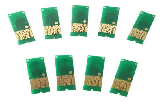Kit Chip Full P Cartucho Plotter 3800 3880 T5801 T5802 T5803