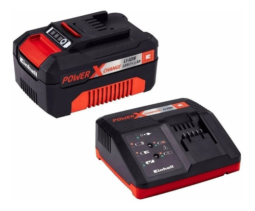 Bateria Cargador Einhell 4ah Rapido 18v Litio Power X Change