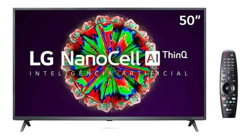 Imagem 1 de 7 de Smart Tv Led 50 LG 4k Wi-fi Nanocell 3 Hdmi 2 Usb