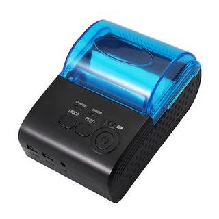 Mini Impresora Termica Azul A.1 58 Mm Nueva En Oferta