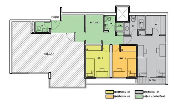 Alquilo Habitacion En Condominio Cerrado En La Molina