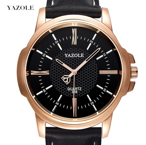 Relógio Masculino De Marca Original Yazole Quartz Supreme N