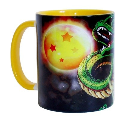 Caneca Dragon Ball Z - Esferas Do Dragão