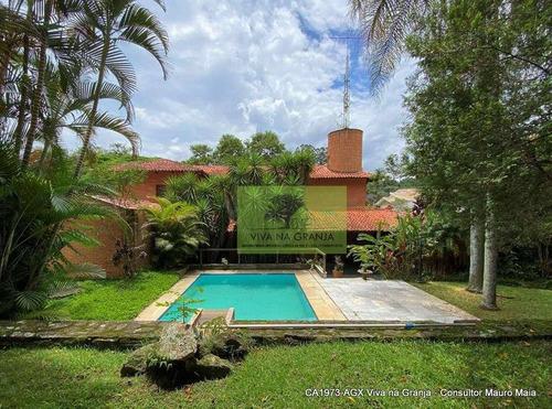 Inpla - Linda Casa, 4d(2sts),ótima Localização, Lareira, Piscina, Gourmet! - Ca1973