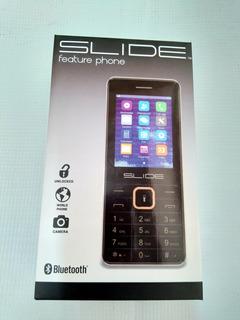 Celular Slide Cb2102bk 2gb Negro