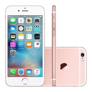 Celulares Baratos iPhone 6s 64gb Rosa Só Botão Digital Promo