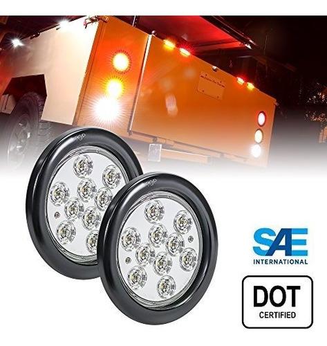 Imagen 1 de 7 de Luz Trasera De Freno Para Camiones Rv Jeep, Con Certificado