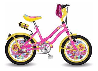 Bicicleta Disney Soy Luna Rodado 14 Para Nena **10
