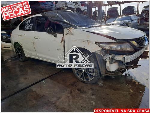 Sucata Honda Civic 2.0 16 V Lxr Automático 2016 Peças