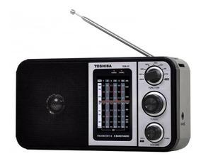Rádio Portátil Semp Toshiba 8 Faixas Multibanda Tr849