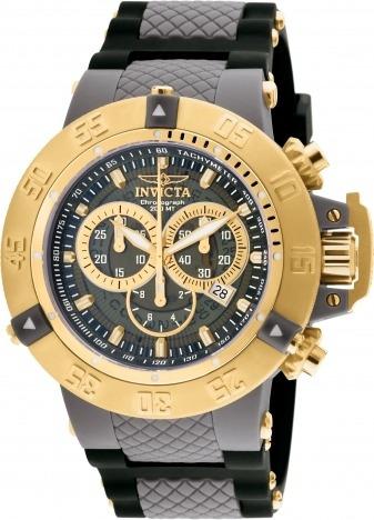 Relógio Invicta Subaqua 0930 Lançamento Gold