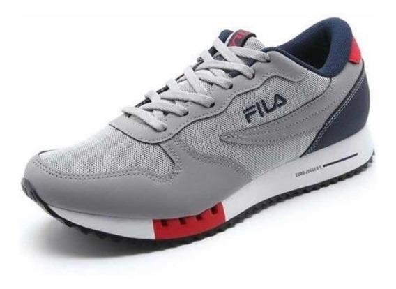 Tênis Fila Euro Jogger Cinza