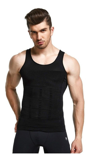 Faja Camiseta Playera Reductora Moldeadora Hombre Reduce
