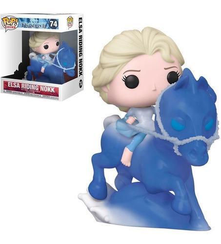 Imagem 1 de 5 de Funko Pop Disney Elsa Riding Nokk Frozen 74