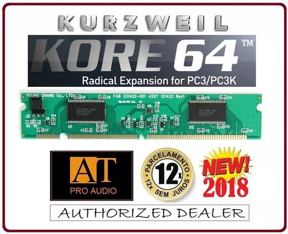 Kurzweil Kore 64 Placa De Expansão Pc3 Custa U$299 Nos Eua!