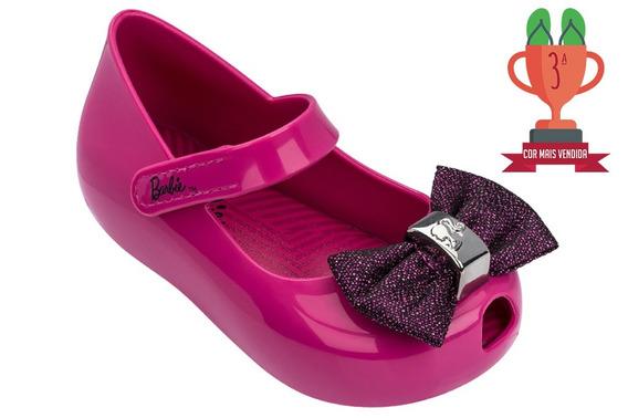 Sapatilha Infantil Baby Barbie Trends Rosa Escuro