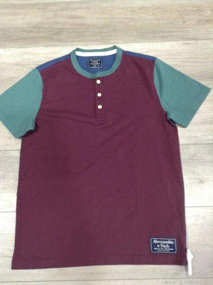 Camiseta Abercrombie & Fitch De Hombre Original Talla Medium