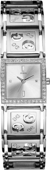 Relógio Feminino Guess Prata 92191l0glna1y Original Nfe