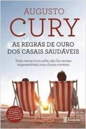 Livro As Regras De Ouro Dos Casais Saudáveis Augusto Cury