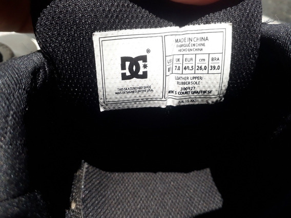 Zapatilla Dc Shoes Originales Talla 40