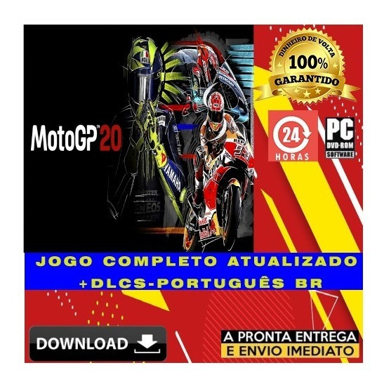 Motogp 20 - Pc - Digital + Todas Dlcs - Português + Brinde