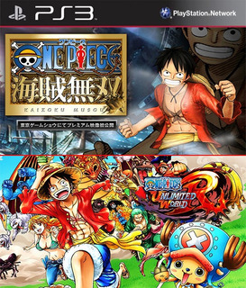 One Piece Pirate Warriors & Unlimited World Red Digital Ps3