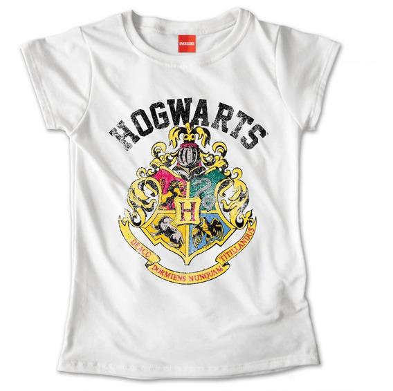 Blusa Dama Harry Potter Hogwarts Ropa Mujer Playera #674