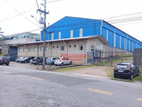 Imagem 1 de 14 de Galpão À Venda, 3842 M² Por R$ 14.500.000,00 - Perová - Arujá/sp - Ga0391