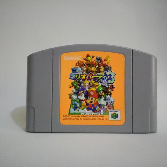 Mario Party 3 Original Japonesa Para Nintendo 64 N64 Japones