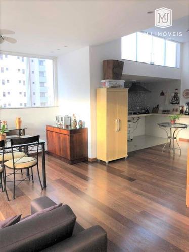 Cobertura Com 3 Dormitórios À Venda, 186 M² Por R$ 1.970.000 - Moema - São Paulo/sp - Co0012