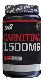 Ena Sport Carnitina 1500 Mg Quemador Grasa X 60 Caps
