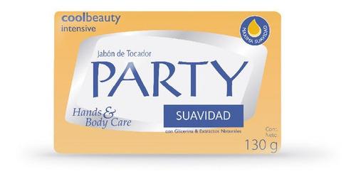 Jabon En Barra Party Suavidad X 130 G