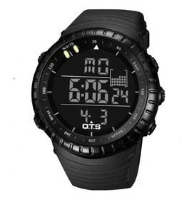 Relógio Digital Militar Masculino Ots 50 Mts Mergulho Tático
