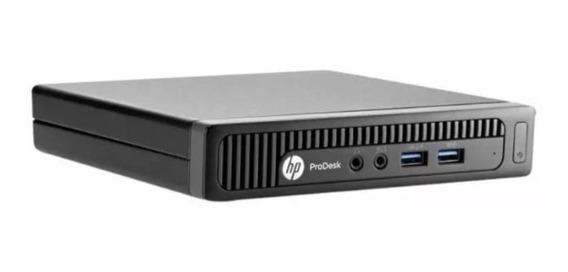 Mini Computador Hp Prodesk I3-4150t 3.0 4 Giga Ssd 120 Giga